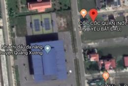 Chính chủ cần vốn bán nhanh lô đất đẹp ở ngay trung tâm TT Quảng Xương