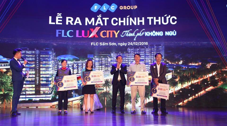 Lễ ra mắt chính thức dự án FLC Lux City Sầm Sơn - Thành Phố Không Ngủ